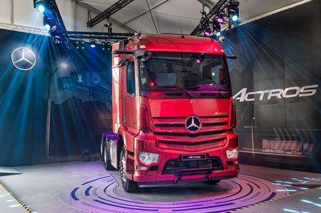 賓士重車科技進化!新世代Actros車系登台亮相