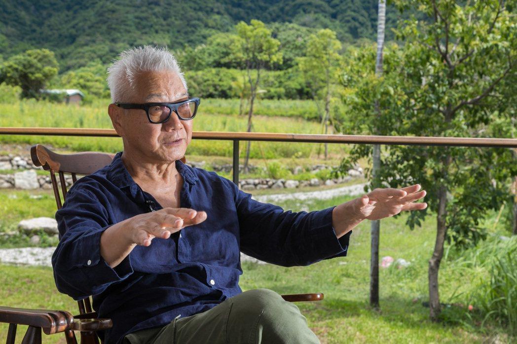 朱平對地方文化有許多想法。記者陳立凱/攝影