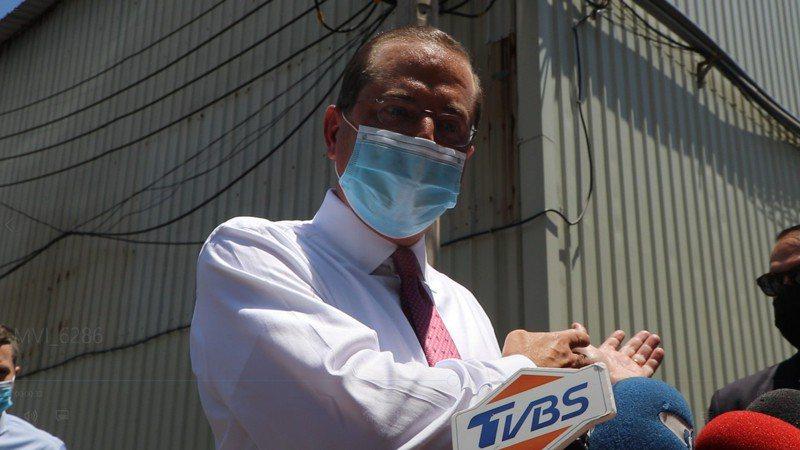 美國衛生部長阿查爾。聯合報系記者吳亮賢/攝影