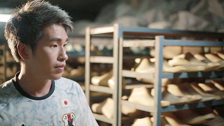 ▲身為鞋楦廠傳產第三代,涂旭東對如何改善腳的走路環境非常感興趣。涂旭東提供