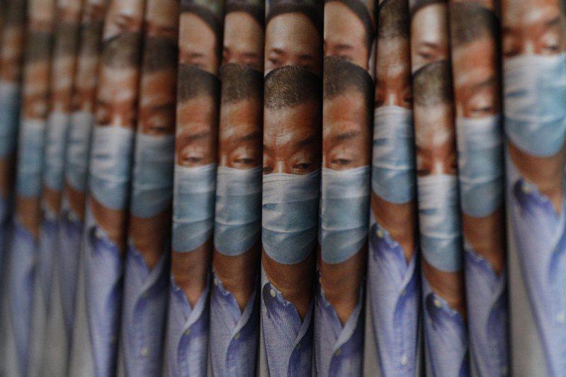 壹傳媒創辦人黎智英被捕後,壹傳媒股價連續兩天暴漲,引發市場諸多揣測。美聯社。