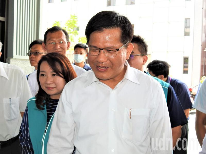 交通部長林佳龍。報系資料照片