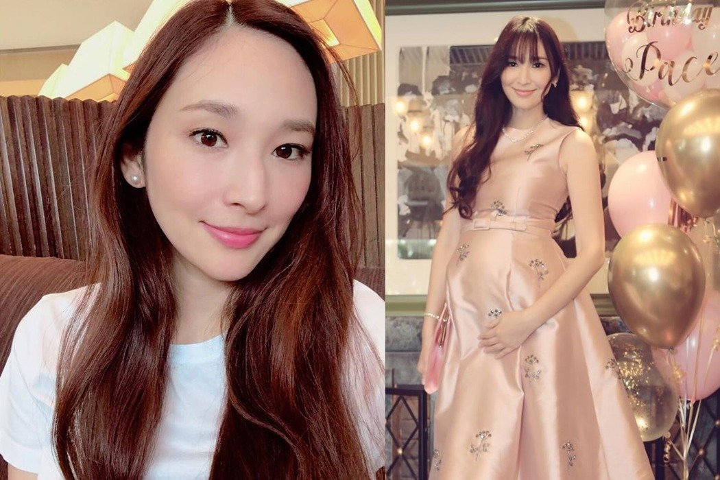 女星吳佩慈與香港富商紀曉波交往多年,但紀曉波近期頻傳財務危機。取自微博