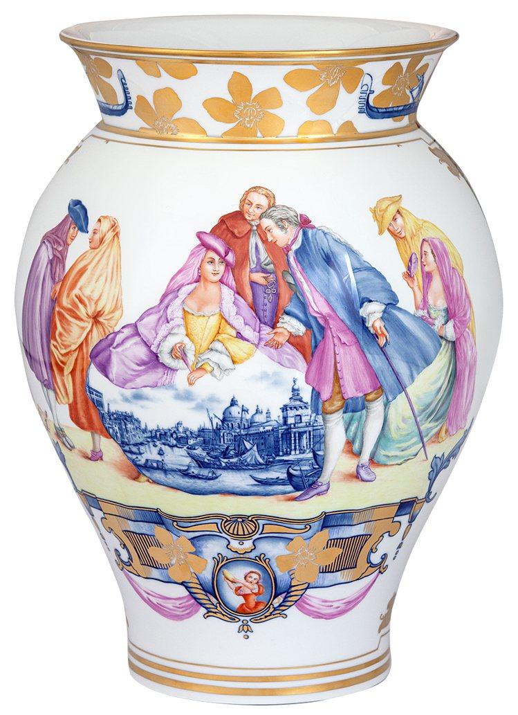威尼斯藝術之城花瓶。圖/國裕提供