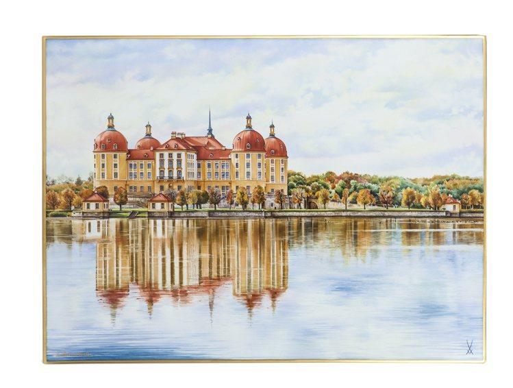 莫里茲堡壁畫 。圖/國裕提供