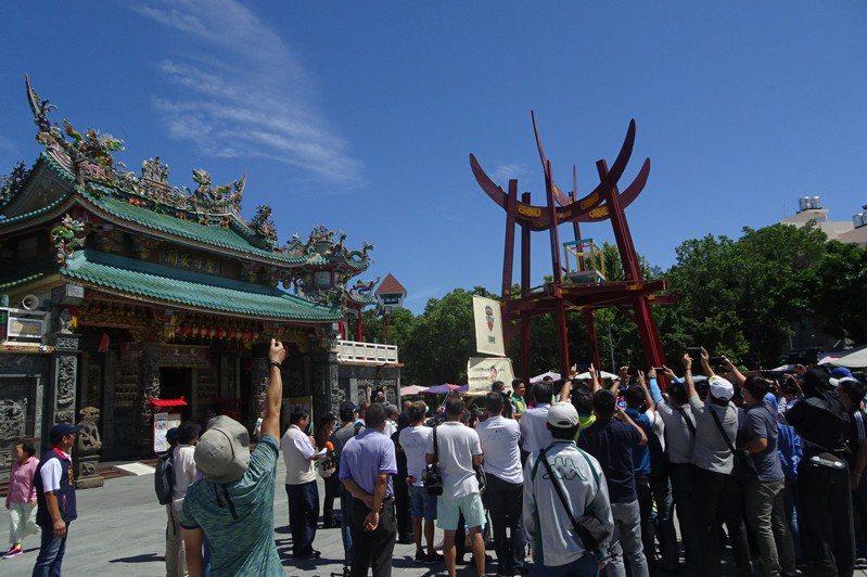 台南16歲成年禮活動將在本月23日舉行。記者鄭維真/攝影