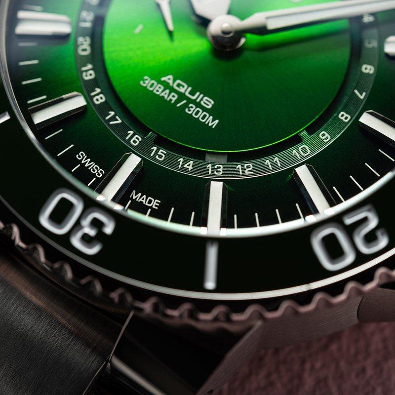 ORIS過往曾推出「生命之源」限量腕表,以特定河川、流域的主題腕表,品牌今年首度瞄準亞洲的南韓。圖 / ORIS提供。