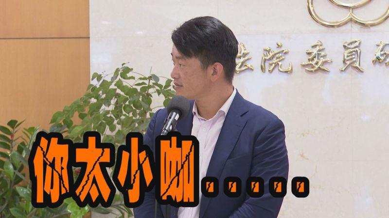 媒體求證涉嫌詐欺的黃先生,他除了否認詐欺之外,更嗆說陳柏惟「太小咖」,要找立委背書也不會找他。記者陳煜彬/攝影