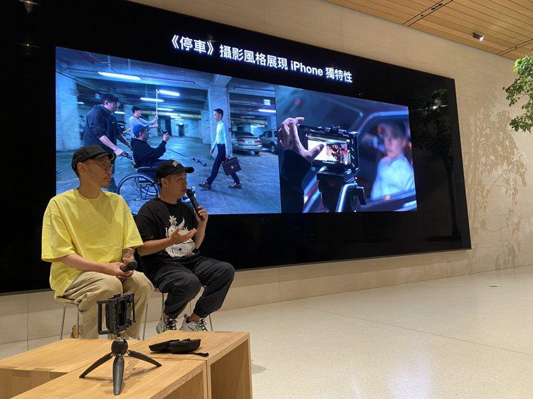 為了讓《怪胎》拍攝達到更完美水準,廖明毅導演還預先用iPhone拍攝了「序曲前導...