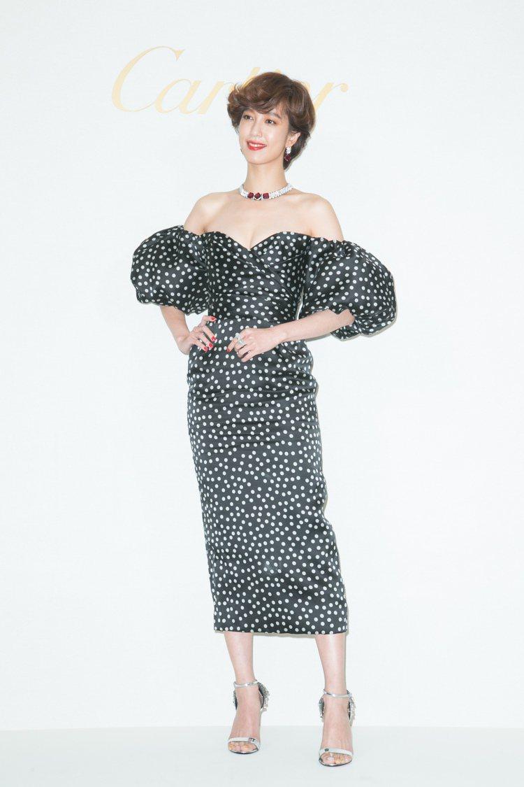 陳庭妮出席卡地亞「Une journée avec Cartier」頂級珠寶展,...