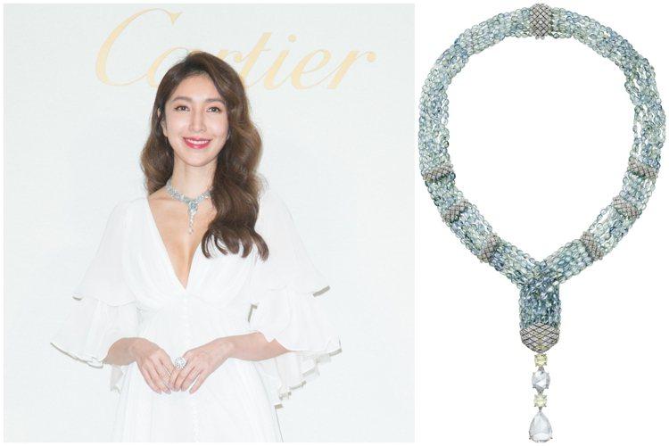 楊謹華出席卡地亞「Une journée avec Cartier」頂級珠寶展,...