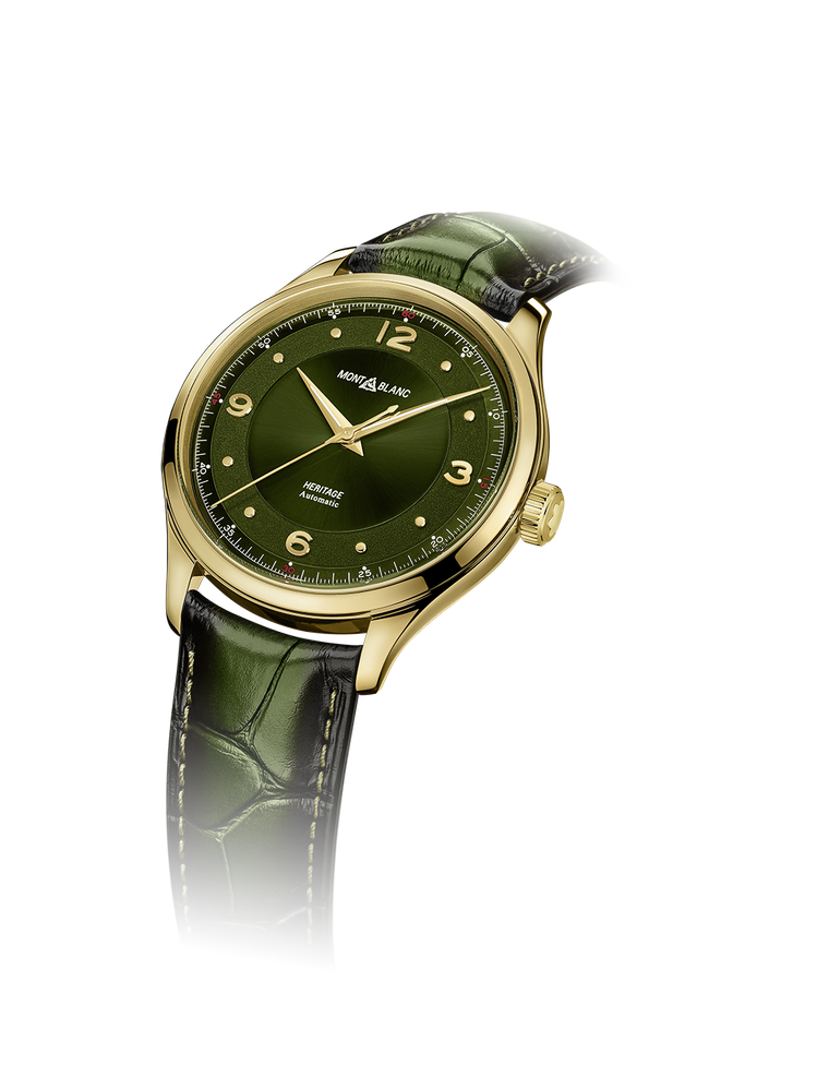 Montblanc,傳承系列自動腕表,18K黃金,40毫米,MB 24.27自動...