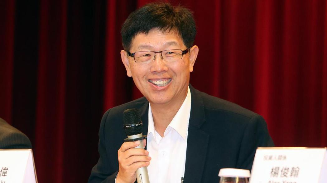 鴻海董事長劉揚偉。記者胡經周/攝影