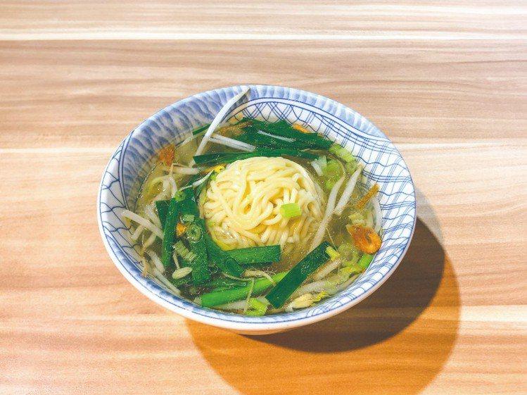 阿國切仔麵湯鮮味醇,是樸實家常的味道。圖/摘自米其林官網