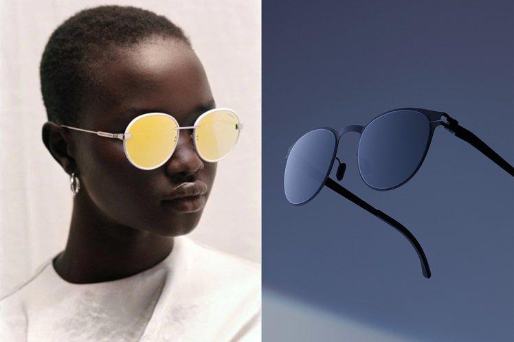 行李箱品牌RIMOWA在新的一季中,推出了多款亮色設計墨鏡;MYKITA首度採用...