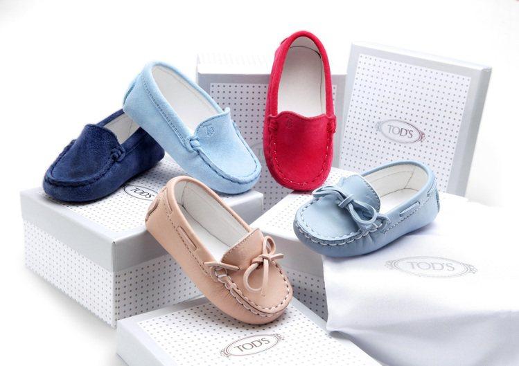 TOD'S經典BABY豆豆鞋。圖/迪生提供