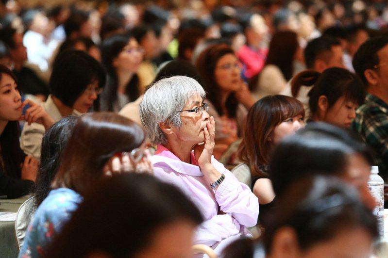 有人退休金準備規畫還不滿意,參加退休理財講座,希望專業人士協助。圖/聯合報系資料照片