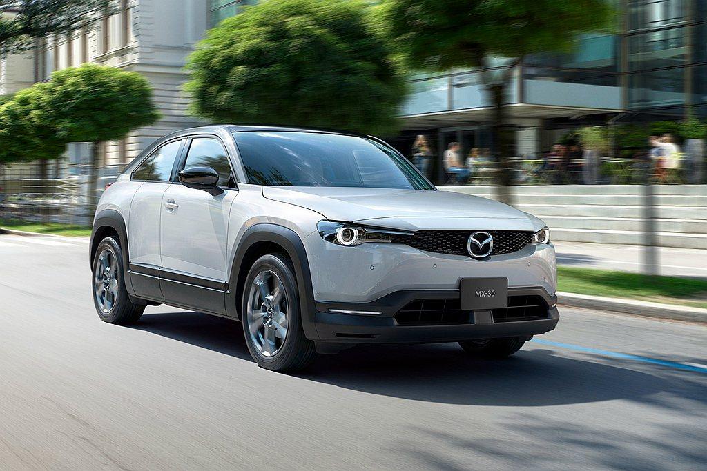 Mazda確認有新休旅作品,即為汽油版的MX-30。 圖/Mazda提供