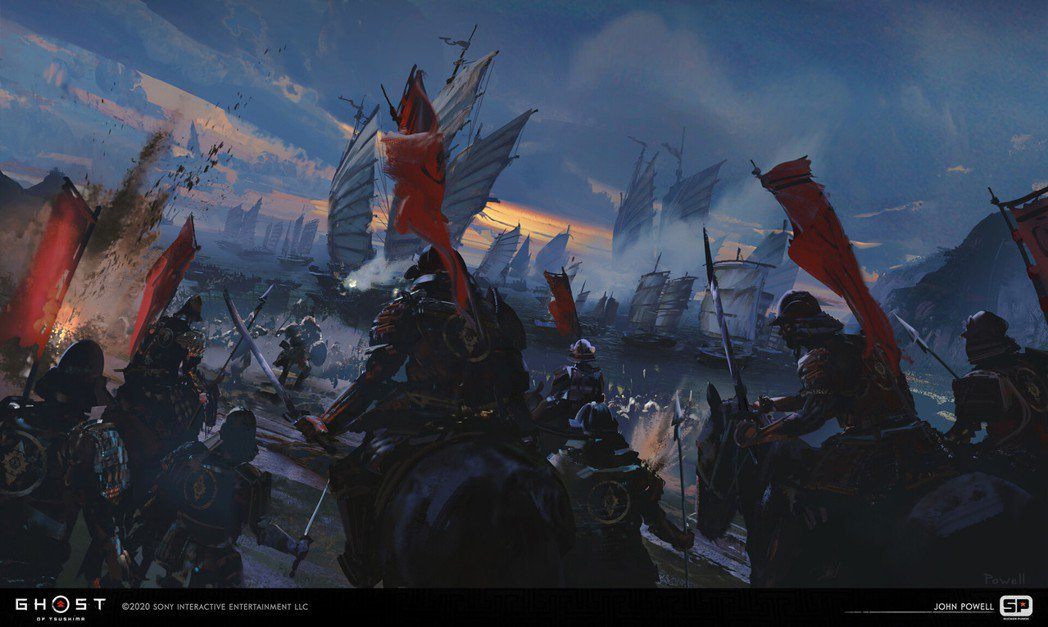 最初的侵略戰-小茂田之役 (資深概念美術設計 John Powell)