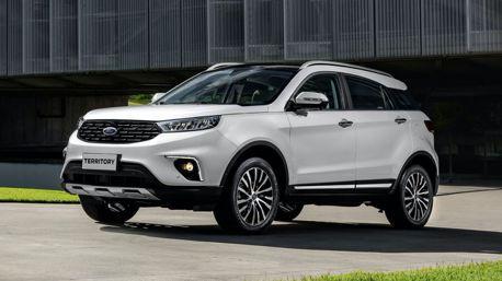 中國產Ford Territory休旅車外銷南美 升級為全球戰略車款!