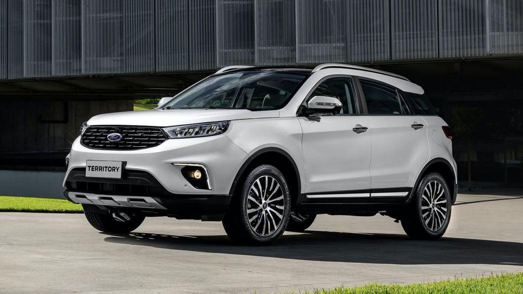 Ford Territory又稱福特領界,是Ford與中國江鈴汽車共同合作開發的...