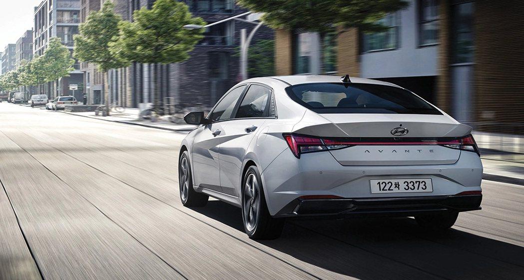 全新Hyundai Elantra/Avante Hybrid綜效馬力為139h...