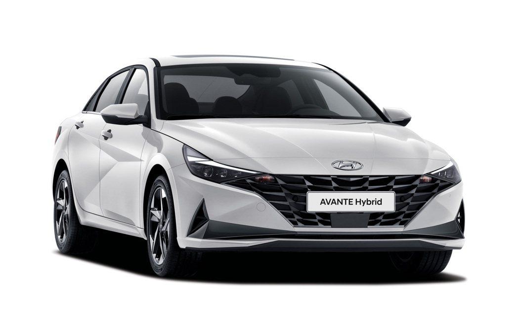 全新Hyundai Elantra/Avante Hybrid在13日正式發表,...