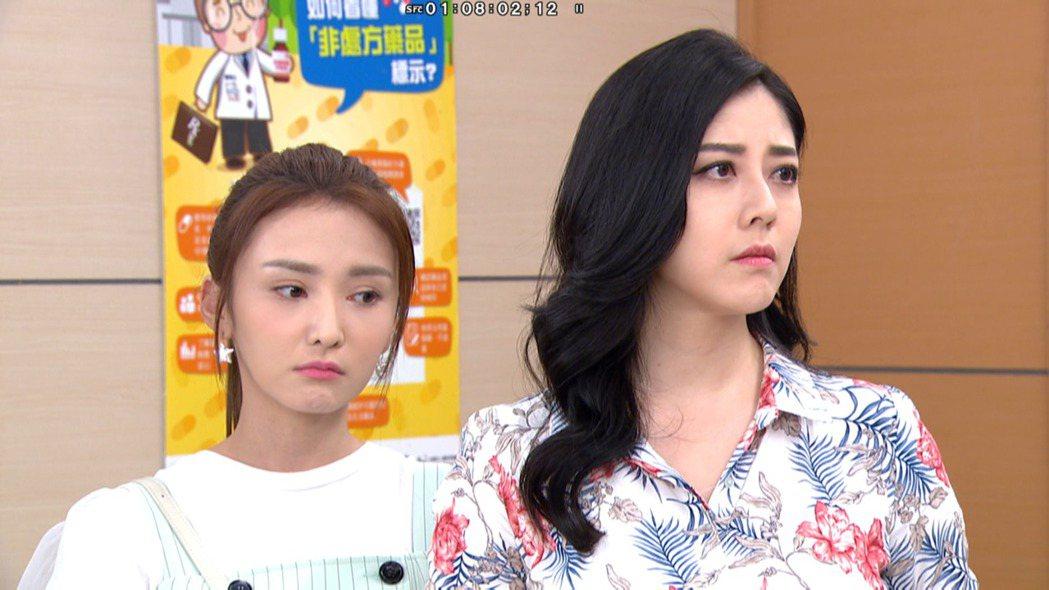 韓瑜在「天之驕女」中演技大爆發,收視飆升。圖/三立提供