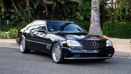 Michael Jordan開過的Mercedes-Benz S600 Coupe現正出售中!