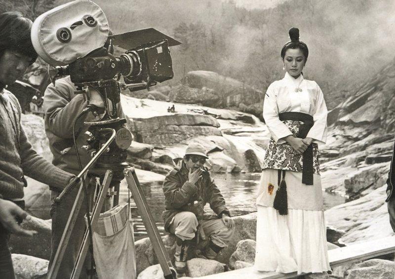 《山中傳奇》工作照。 圖/國家電影資料館