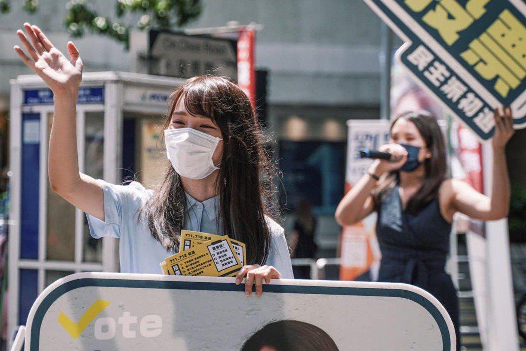 從批判中國政府、聲援周庭到反思日本社會,日本方面的聲援聲音並陳齊放。圖為周庭的資...