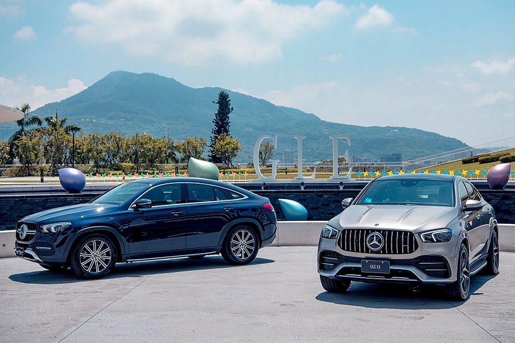 賓士GLE 350 d 4MATIC Coupe建議售價381萬起;Merced...
