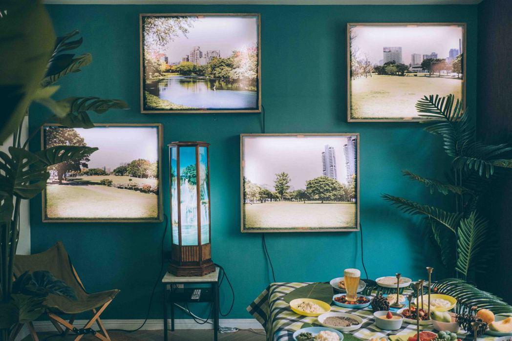 島東譯電所以最chill的精神塑造「樣板公園」。 圖/13個房間創作藝術節