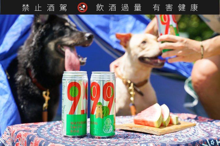 翻玩經典調酒「Salty Dog」,「臺虎瓜啤酒」使用花蓮壽豐鄉的西瓜汁、葡萄柚...