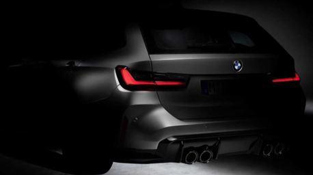 BMW M3 Touring玩真的!官方Instagram直接公布車尾輪廓