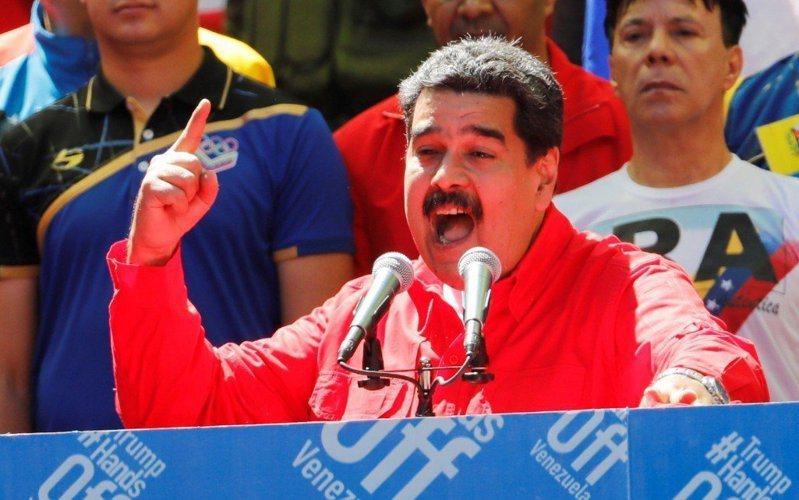 圖為委內瑞拉總統馬杜洛。 路透社