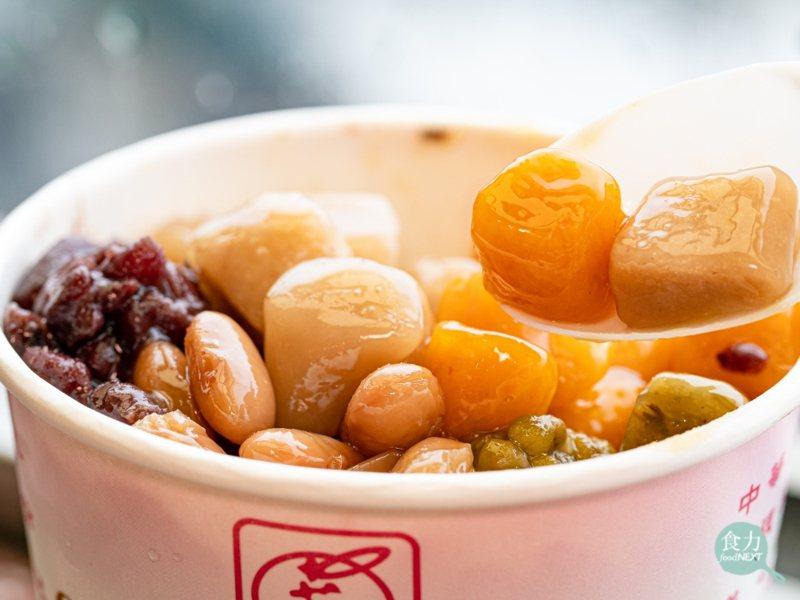 芋圓成為九份特色美食,並且陸續有綠豆圓、地瓜圓等多樣化產品誕生。圖/食力foodNext
