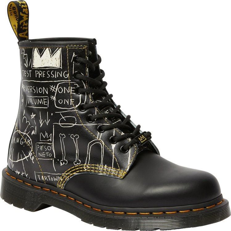 Dr. Martens x BASQUIAT 1460八孔靴7,280元。圖/合...
