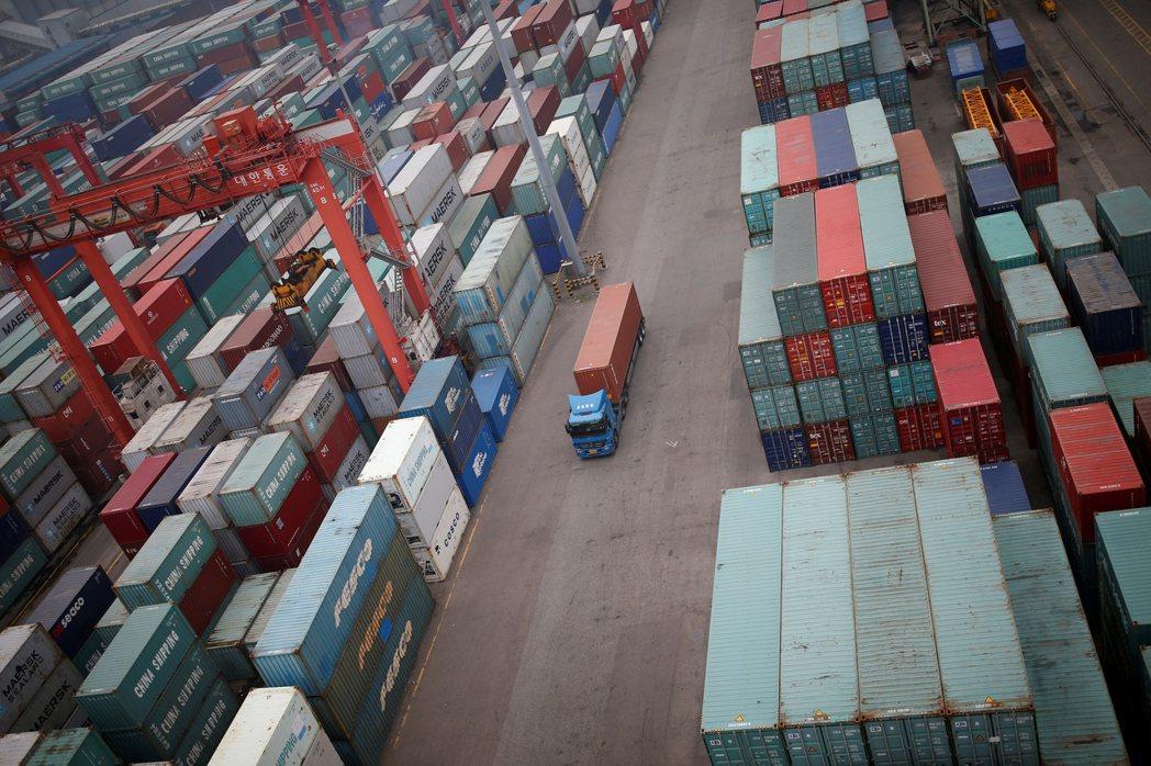南韓科技產品出口反彈7月加速。圖為仁川港。路透