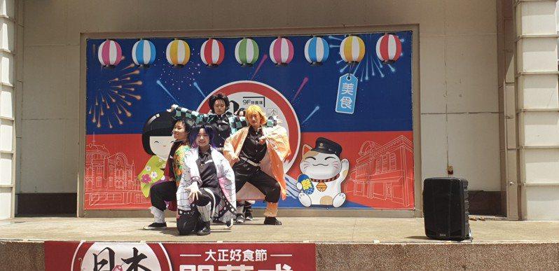 豐原太平洋百貨公司今天舉辦日本美食物產展,即日起到本26日。記者游振昇/攝影