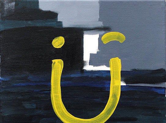 劉以豪將推出首張EP「U」,自己畫封面,展現藝術天份。圖/何樂音樂提供