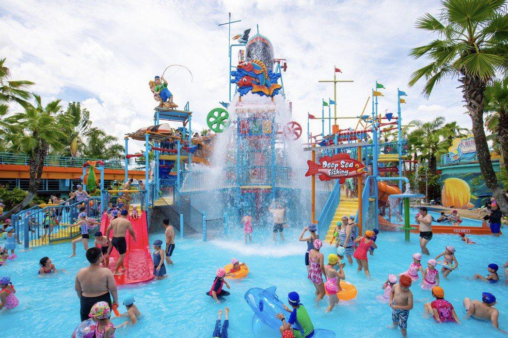 小威主題水樂園有多項台灣唯一或第一的玩水設施。圖/劍湖山世界提供