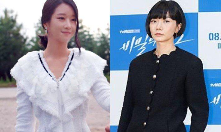 徐睿知、裴斗娜都穿香奈兒。圖/摘自Netflix、tvN粉專