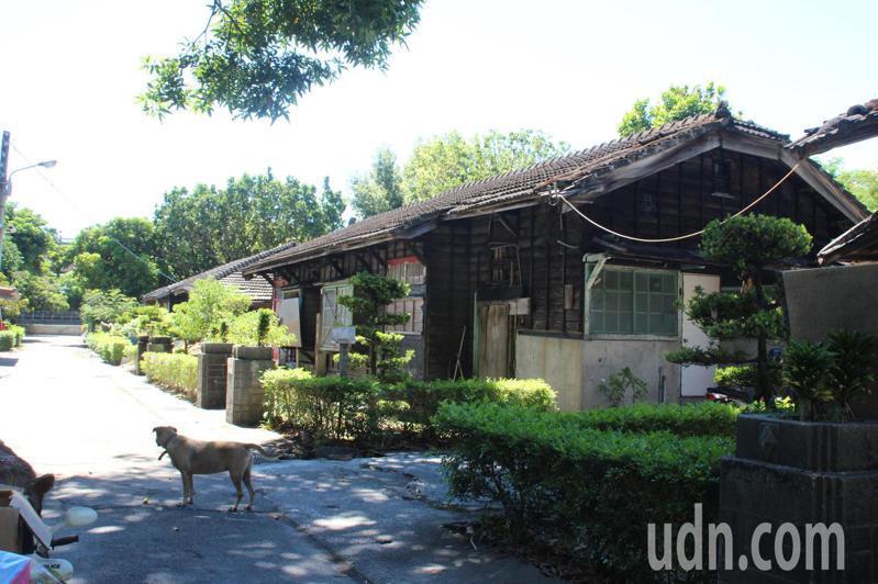 花蓮市中正路的「將軍府」日式宿舍群,有80多年歷史。記者王燕華/攝影