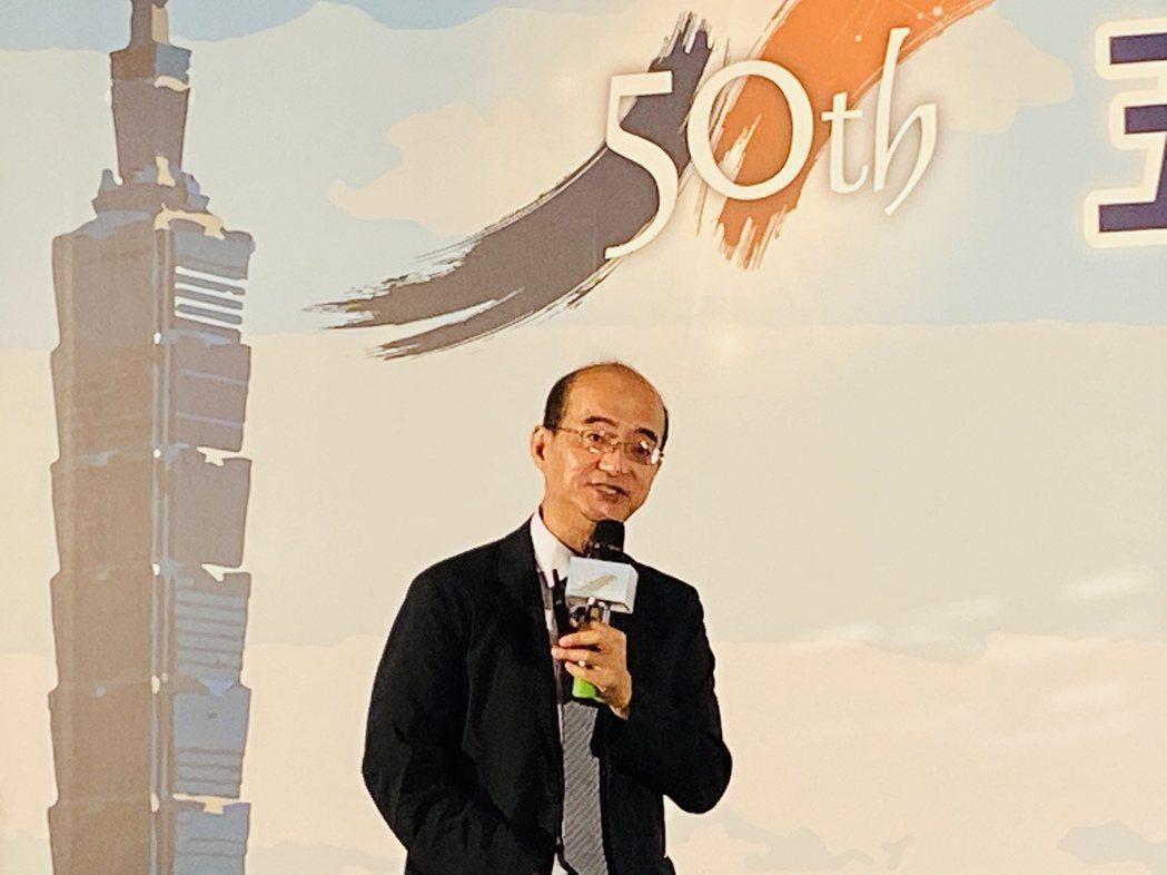 台灣經濟研究院院長張建一。記者陳怡慈/攝影