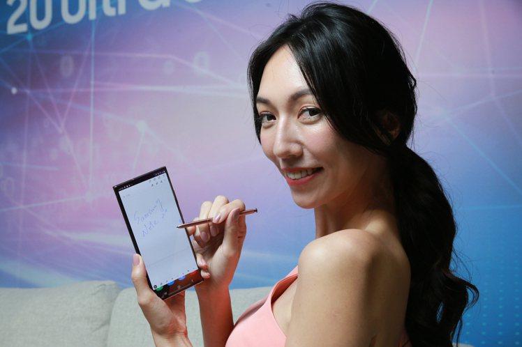 Samsung Galaxy Note20 5G旗艦系列搭載全新升級的S Pen...