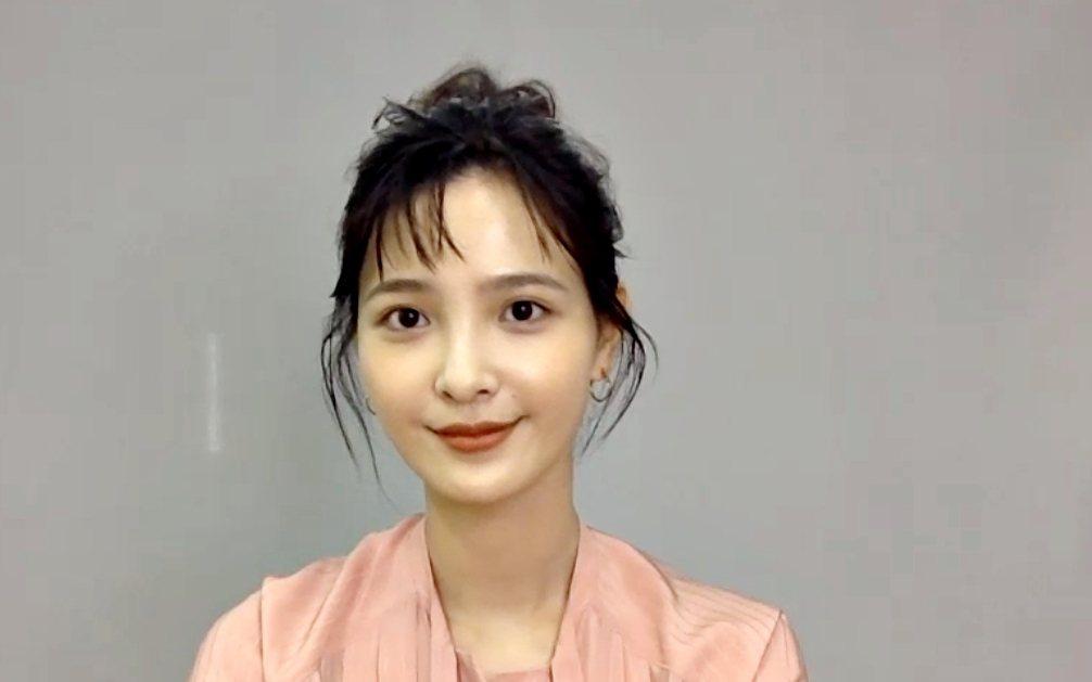 吳子霏接受視訊訪問,談到第一次拍攝科幻類型戲。圖/HBO Asia提供