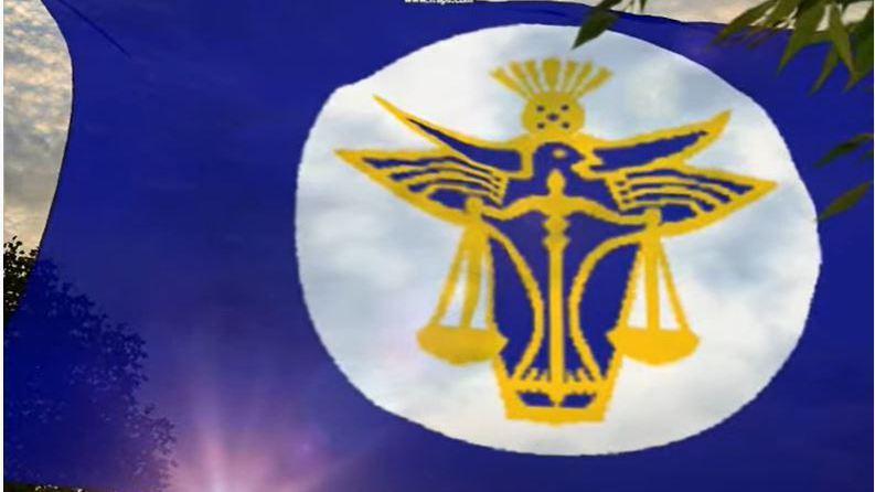 赫特河公國國旗。(擷取自YouTube)