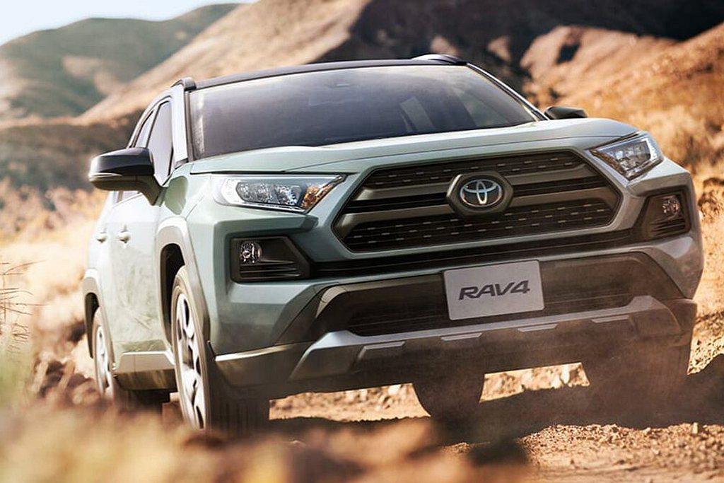 和泰送測Toyota RAV4 2.0L 4WD新車型,繳出13.7km/L的平...