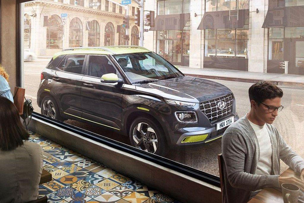 即將於9月發表的國產小休旅Hyundai Venue已經完成油耗測試,具備平均1...